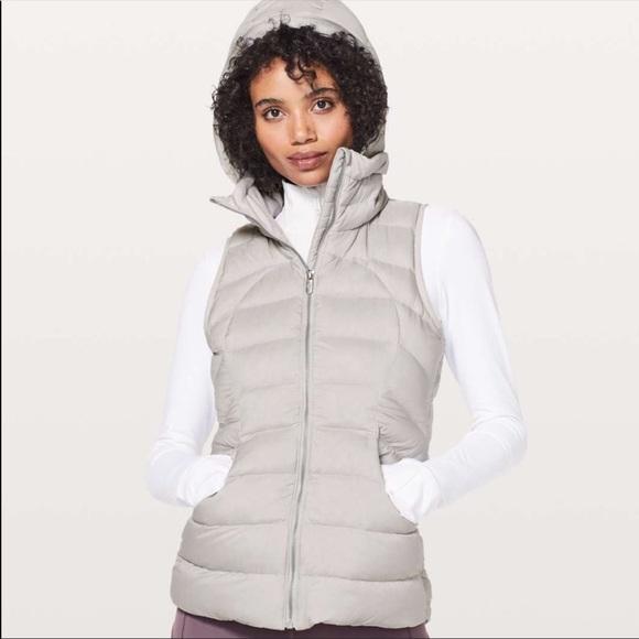 NEW Lululemon Pack It Down Hooded Vest